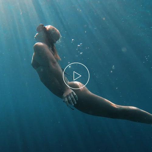 Milos Underwater Video Instagram